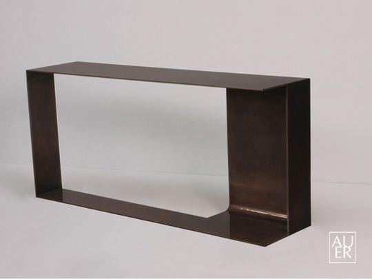 POUENAT FERRONNIER Tristan Auer consola (para escultura)