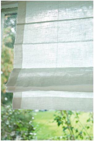 Klassinen, kaunis pellavalaskosverho, jonka yksittäiset värjätyt langat tuovat kankaaseen kauniita sävyvaihteluita. <br>Korkeutta säädetään nyöreillä. Mukana nyörien kiinitystarvikkeet. Korkeus 160 cm.
