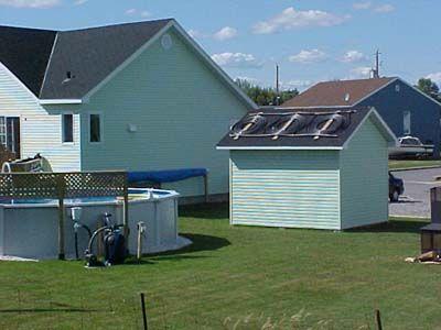 Les 25 meilleures id es concernant panneaux solaires sur for Chauffe eau pour piscine