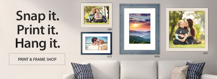 Picture Frames : Buy Custom, Discount Frames and Framing at PictureFrames.com | PictureFrames.com