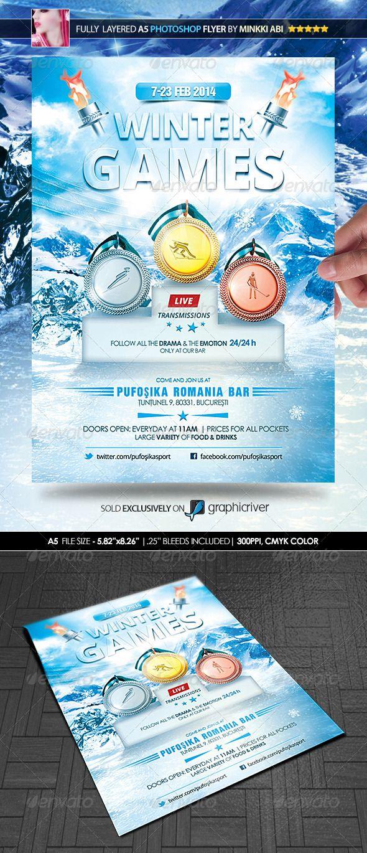 Winter Games Poster/Flyer