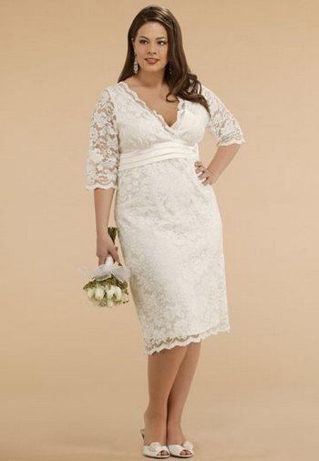 Свадебное платье труба