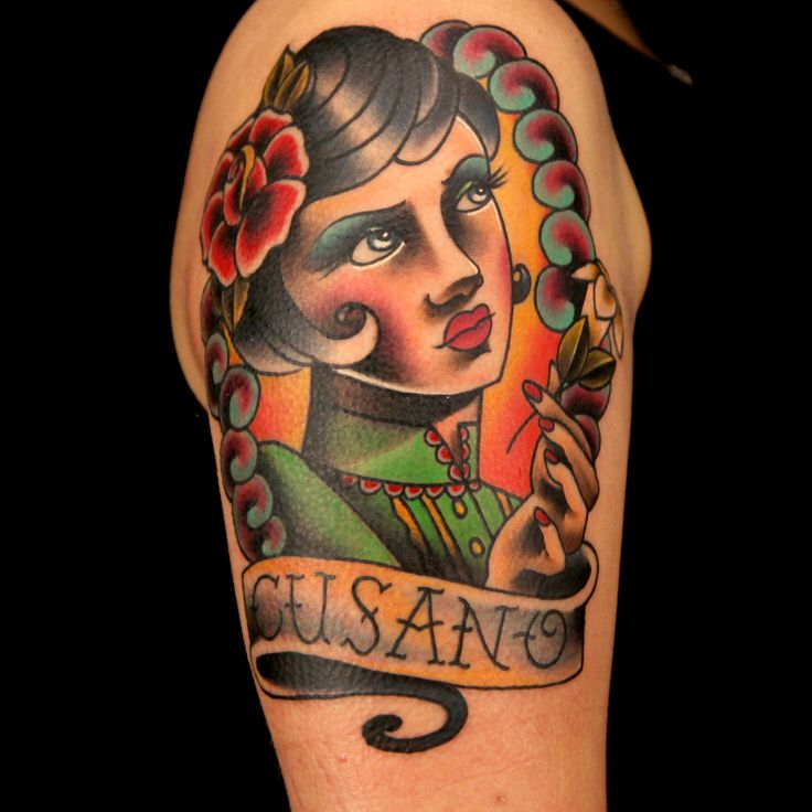 11 best Neo-Traditional Lady and Gentleman Tattoos images on ...