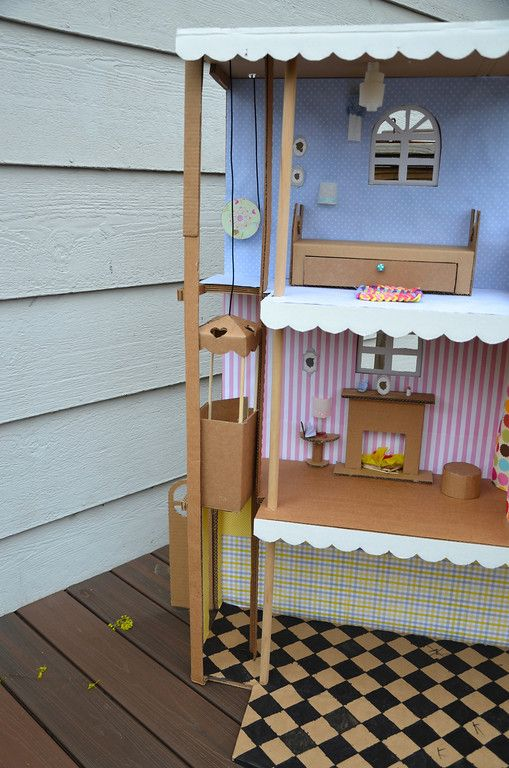 DIY Barbie elevator