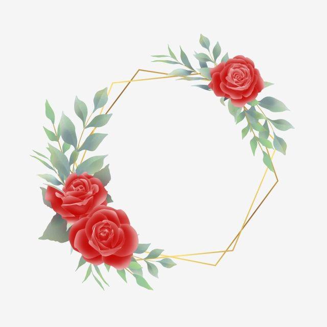 Moldura Rosa Vermelha Em Estilo Aquarela Quadro Armacao Quadro De Casamento Png E Vetor Para Download Gratuito In 2020 Rose Frame Wedding Frames Flower Frame