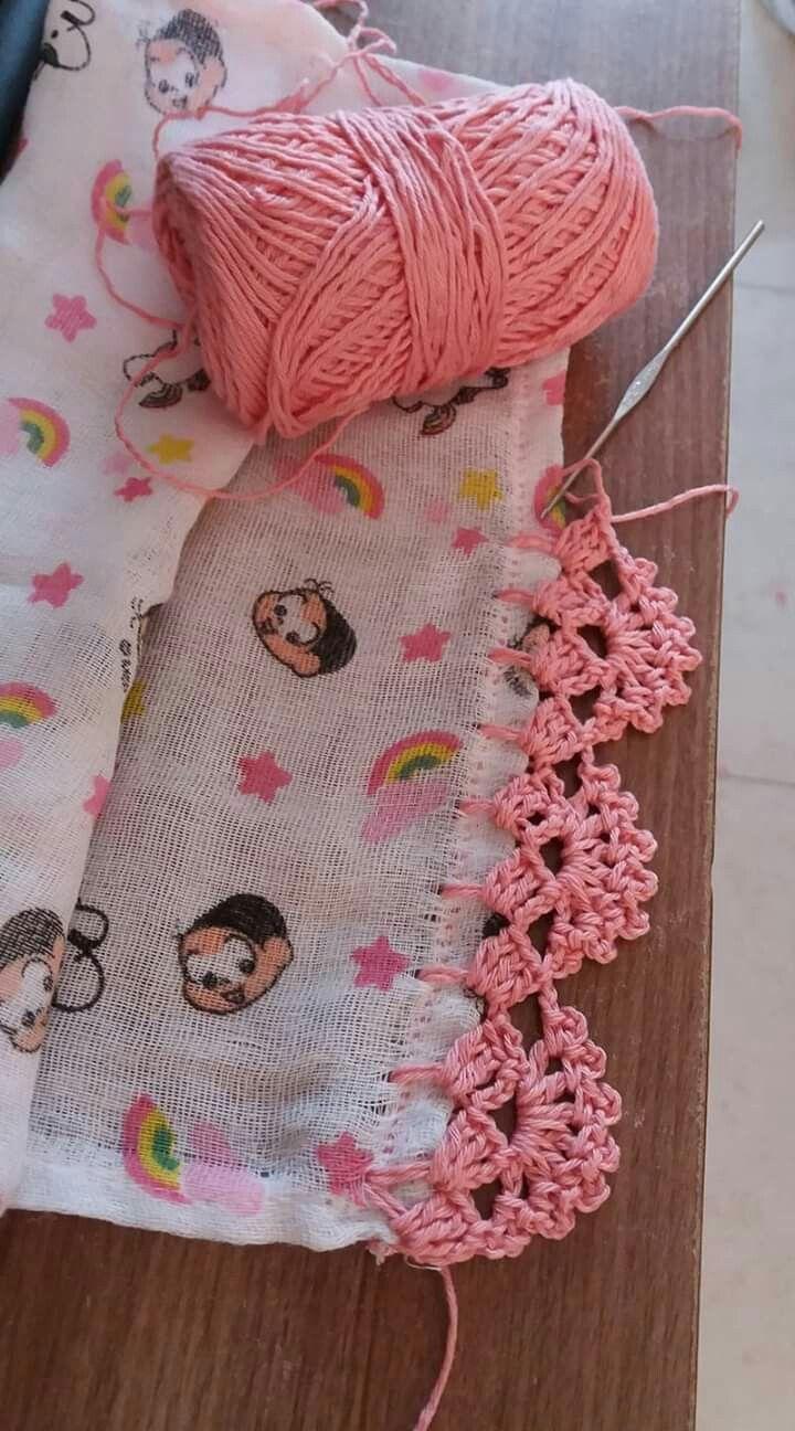 Free Crochet Scarf Pattern The Ripple Rainforest Scarf Uses The Wave Stitch And Artofit Ganchillo Orillas Puntillas De Ganchillo Ganchillo