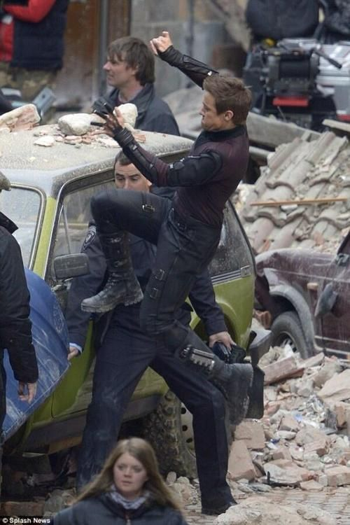 Jeremy Renner -- Hawkeye,  Avengers: Age of Ultron