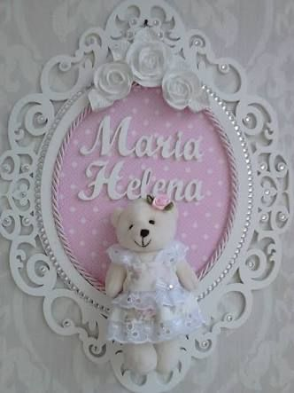 Resultado de imagem para enfeite de porta de maternidade com oração