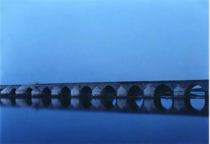 Beaugency, 2001 by Elger Esser. C-print on Diasec. 55 x 72.5 inches. Price on Request. #elgeresser #photography
