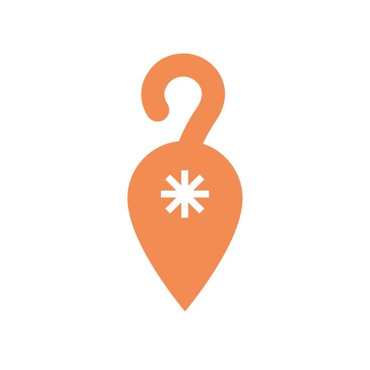 """#Logo numero 31, CAT LoCATor, cioè il logo di un'applicazione con GPS che da smartphone """"sorveglia"""" e rintraccia i gatti di casa quando vanno a fare le loro giratine. Il simbolo della localizzazione, il punto interrogativo/coda e soprattutto l'asterisco, che è stato oggetto di tanti dialoghi gattocentrici. #onelogoaweek #graphic #design #graphicdesign #impiastroviola https://www.instagram.com/p/Befs3RlhIZM/?taken-by=impiastroviola"""