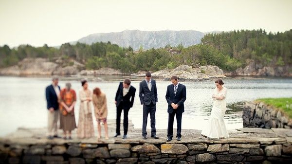 Tegan & Phillip's Norwegian Elopement: another real wedding that may be enough to convince me to have a very small wedding.