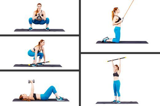 The Only 5 Exercises Women Need to Get Lean