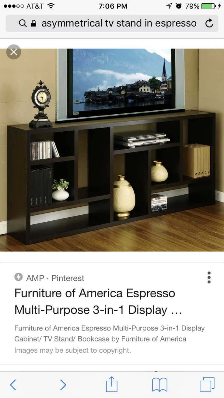 Furniture of America Multi-Purpose Display Cabinet/ TV Stand/ Bookcase -  Overstock Shopping - Great Deals on Furniture of America Coffee, Sofa &  End Tables