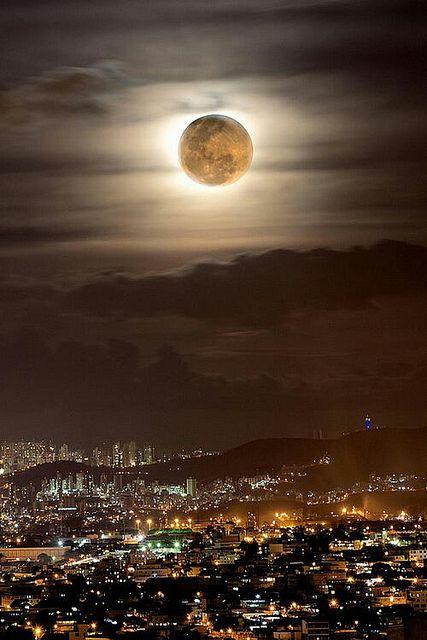 Moonlit Night...:) @awesome #moon #beautiful