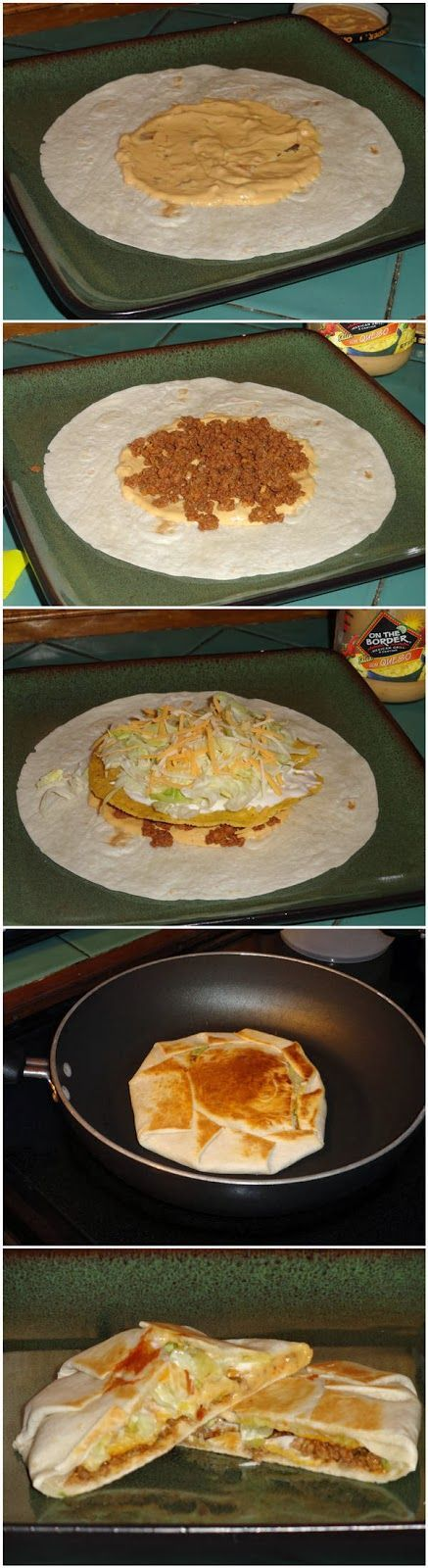 Yummy Crunchwrap Supremes Mexican food, #mexican #recipe