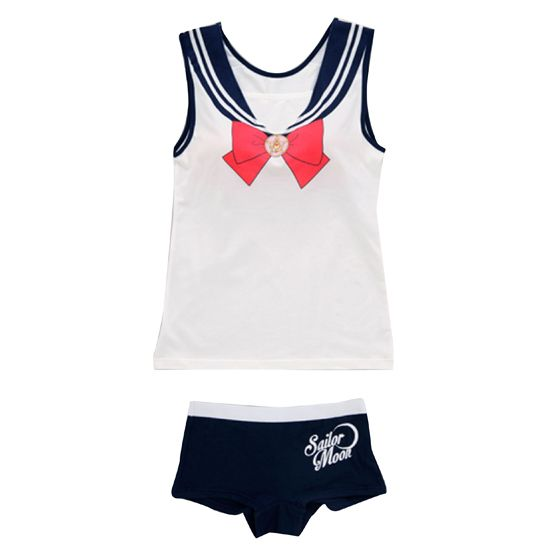 "YES! -""sailor moon"" ""sailor moon merchandise"" ""sailor moon 2014"" ""sailor moon apparel"" ""sailor moon clothes"" lounge wear fashion anime japan shopping 2014"