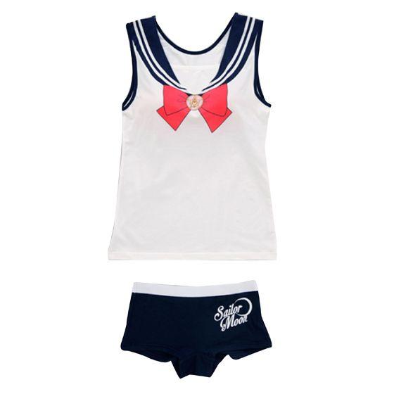 "YES! -""sailor moon"" ""sailor moon merchandise"" ""sailor moon 2014"" ""sailor moon apparel"" ""sailor moon clothes"" lounge wear fashion anime japan shopping 2014"