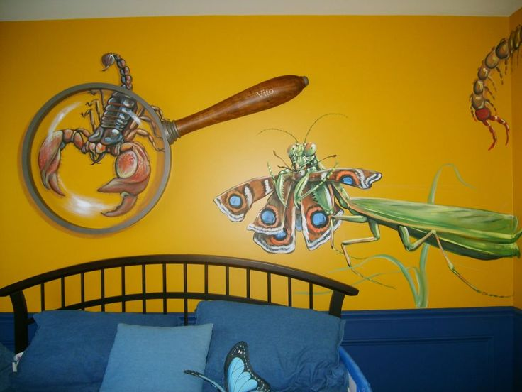 173 best Kid Room Wall Murals images on Pinterest | Child room, Baby ...