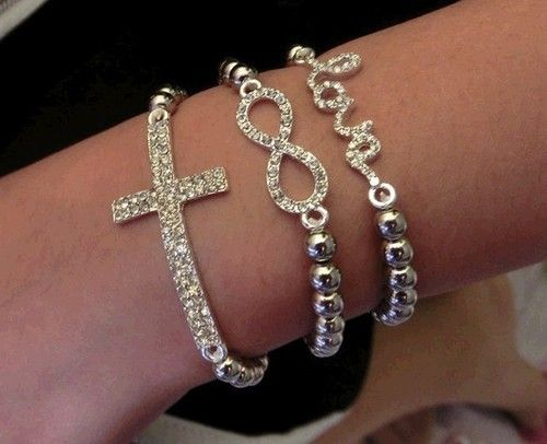 jewelry and bracelets jewelry fashion jewelry.....love love love   I have the cross one already though
