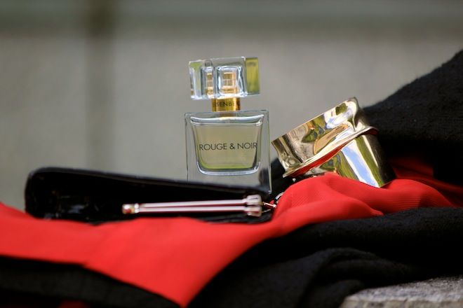 Stylizacja inspirowana perfumami Eisenberg Rouge & Noir