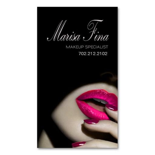 1000+ ideas about Makeup Artist Cards on Pinterest | Makeup artist ...