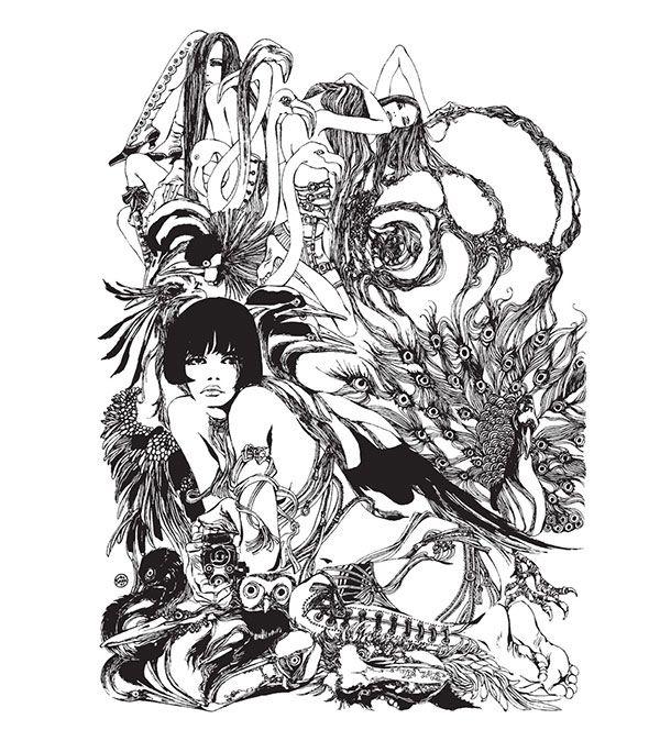 La enigmática sensualidad de Valentina, por Guido Crepax