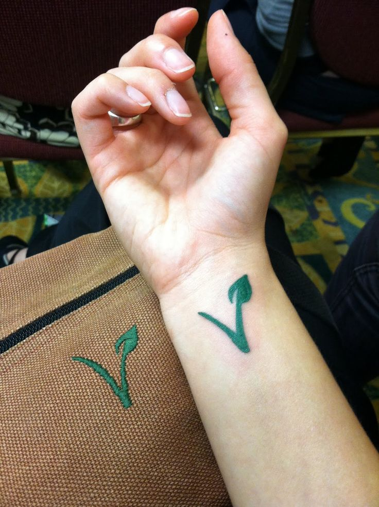 vegan tattoo | Vegan Noms: Vida Vegan Con '11 - Day Two