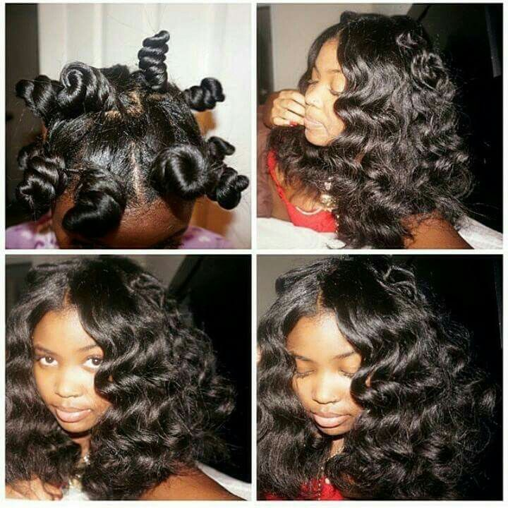 Beautiful Bantu Knot Out