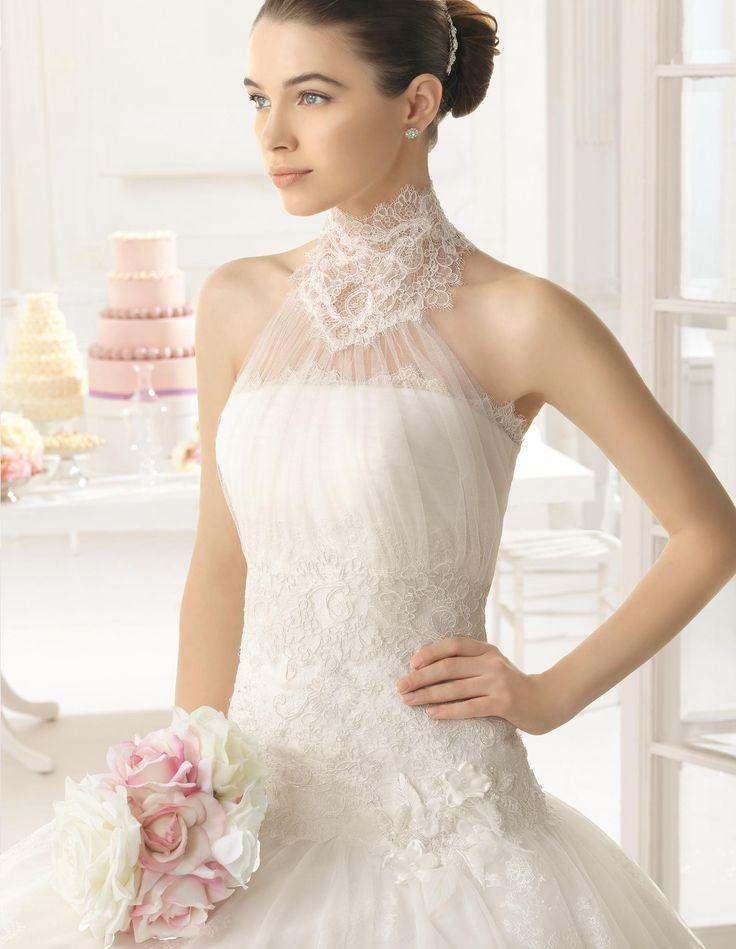 2015 Aire Barcelona - Olot esküvői ruha a Rosa Clarától http://lamariee.hu/eskuvoi-ruha/aire-2015/olot