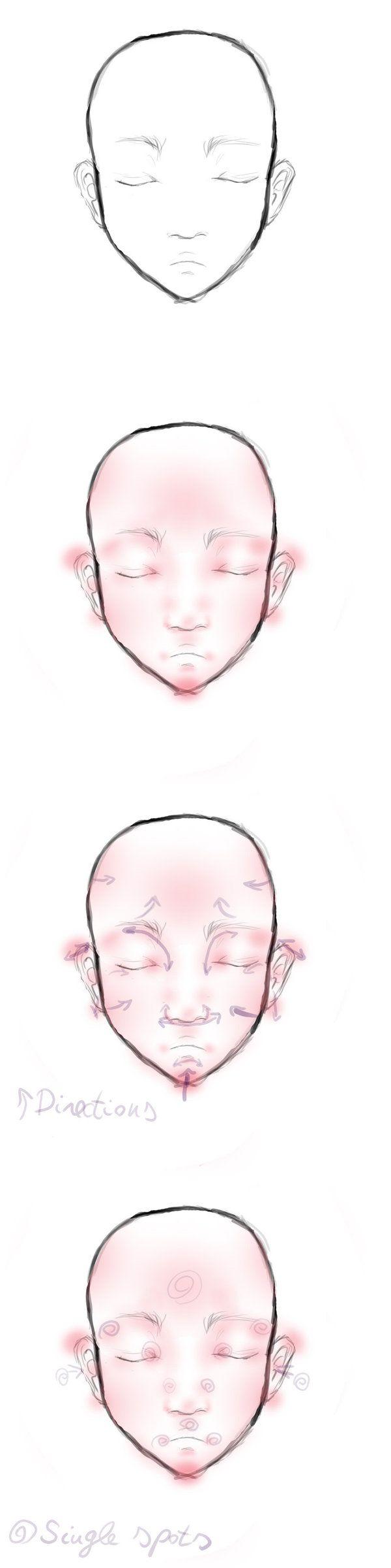 Face Blushing Tutorial by NiuKy.deviantart.com on @deviantART