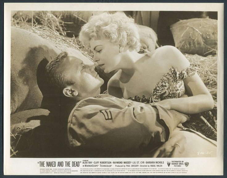 The Naked And The Dead '58 WWII BLONDE BARBARA NICHOLS ALDO RAY | Entertainment Memorabilia, Movie Memorabilia, Photographs | eBay!
