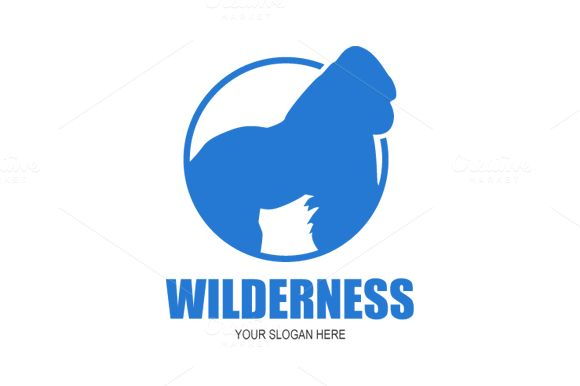 Wilderness Logo Design by Florin Chitic on @creativemarket