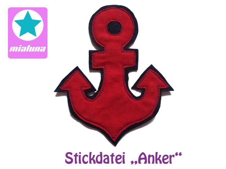 Stickdatei Anker