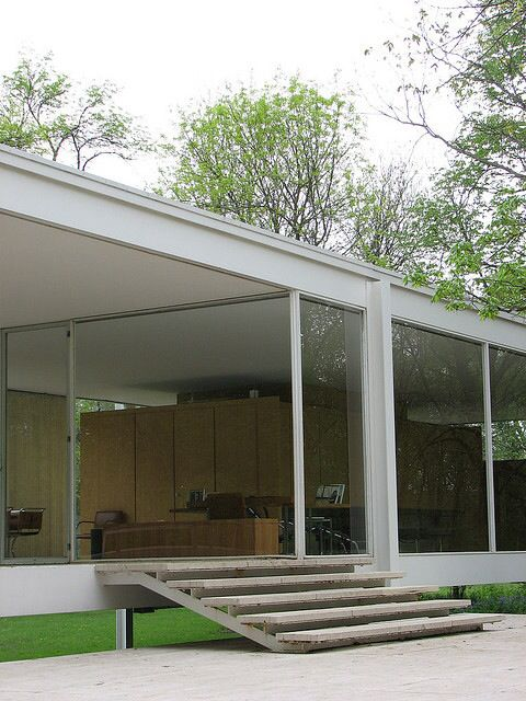 24 best Casa FarnsworthMies images on Pinterest  Farnsworth house Ludwig mies van der rohe
