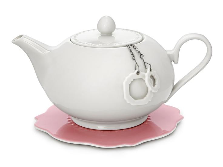 1.2ltr Teapot with trivet