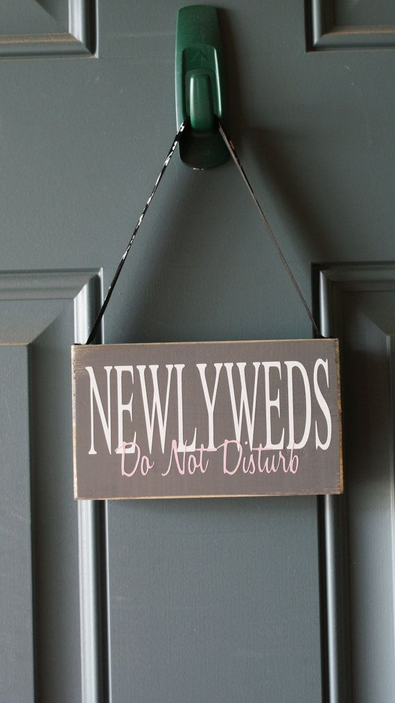 1000 images about do not disturb honeymoon signs on pinterest pewter newlyweds and wedding doors - Diy do not disturb door hanger ...