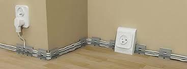 Image result for как спрятать провода на стене
