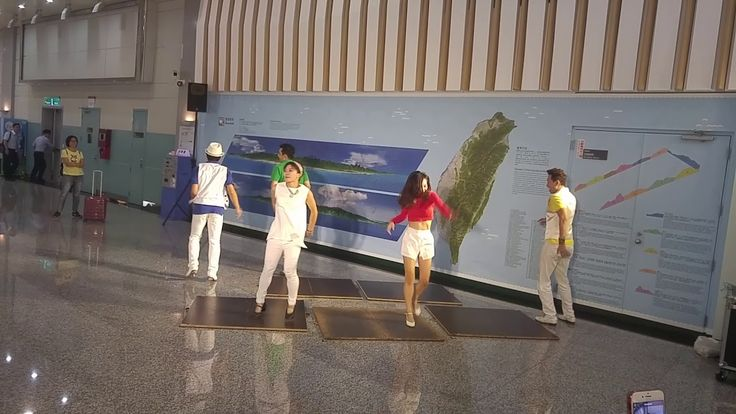 Tap Dance in Taiwan Taoyuan International Airport
