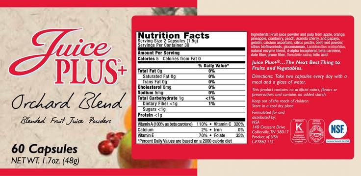 Juice Plus+® - Other Juice Plus Products