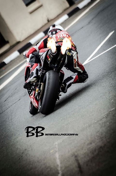 Shot from Steve Babb - Isle of Man TT