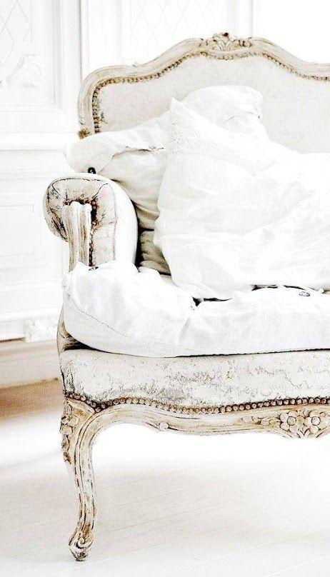 prachtige antieke stoel