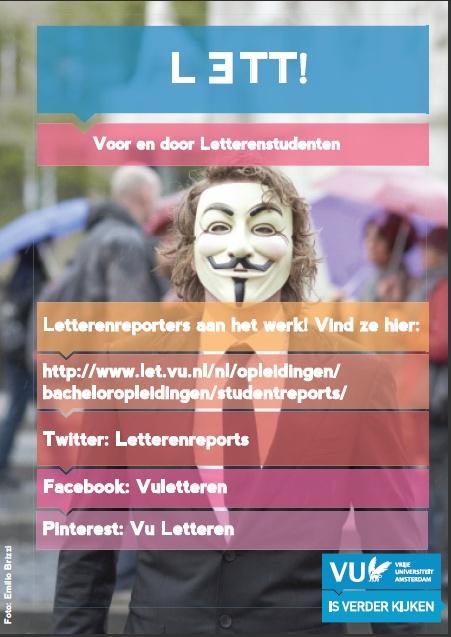 Letterenreporters aan het werk! #vuletteren #letterenreporters