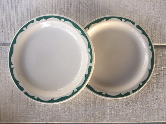 vintage buffalo china restaurant ware luncheon plates on great wall chinese restaurant id=83817