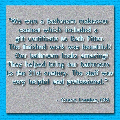 winning a bathroom makeover contest and having a great remodel in a short time