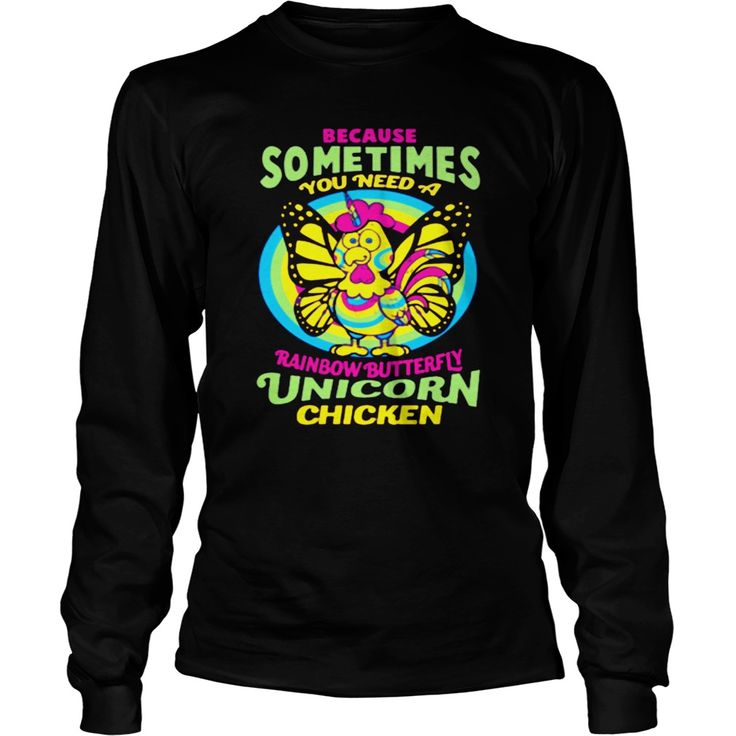 RAINBOW BUTTERFLY UNICORN CHICKEN. Funny, Cute and Clever Chicken Sayings, Quotes, T-Shirts for Sale, Buy Hoodies, Tees, Coffee Mugs, Hats, Clothing, Gifts. #chickens