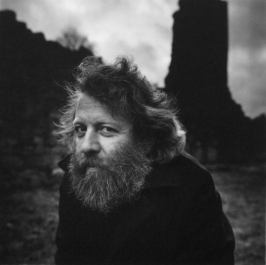 Tobias Berggren (1940) - Swedish poet. Photo by Hans Gedda