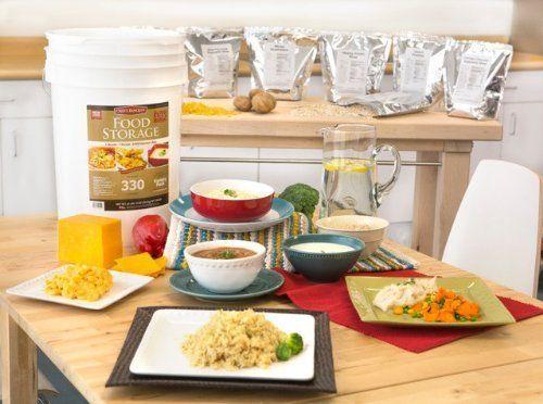 Augason Farms 30 Day Emergency Food Supply Prepper Survival Earthquake Storage