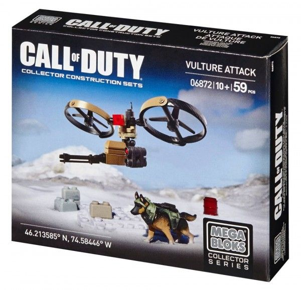ToyzMag.com » Call of Duty Ghosts : Vulture Attack par Mega Bloks
