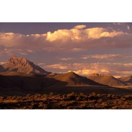 South Africa Nieu Bethesda Naudeberg Pass Canvas Art - Walter Bibikow DanitaDelimont (24 x 15)