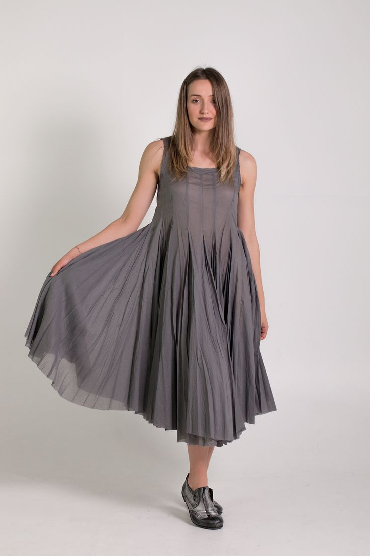 Rundholz Mainline | Et Vous | Grey Dress